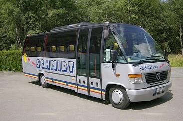 kleiner Reisebus zum Mieten, 30 Sitze